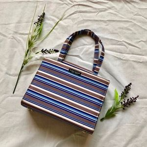 Kate Spade Mini Vintage Striped Bag